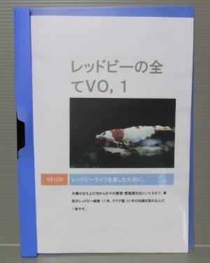 画像1: 『レッドビーの全てVo1』著:萩原良康(えび天)【1冊】